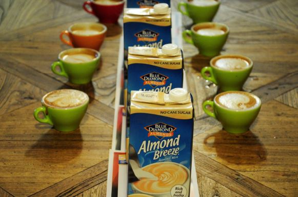 Almond Breeze Breezey Masters coffees