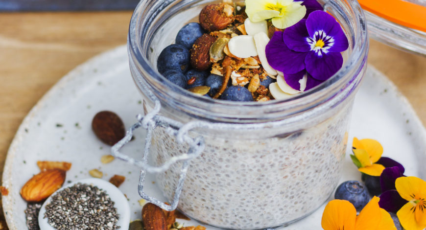 Almond Breeze Chia Seed Pudding
