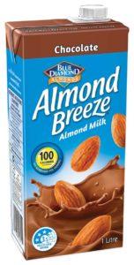 1 litre Chocolate Almond Breeze