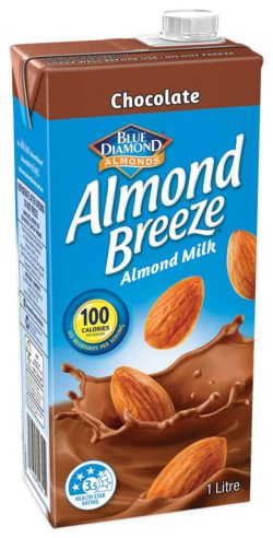 1 litre Chocolate Almond Breeze