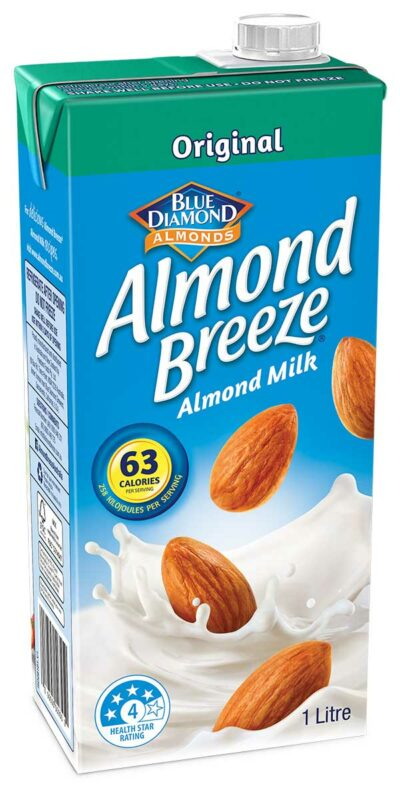 1 litre Original Almond Breeze Almond Milk Carton