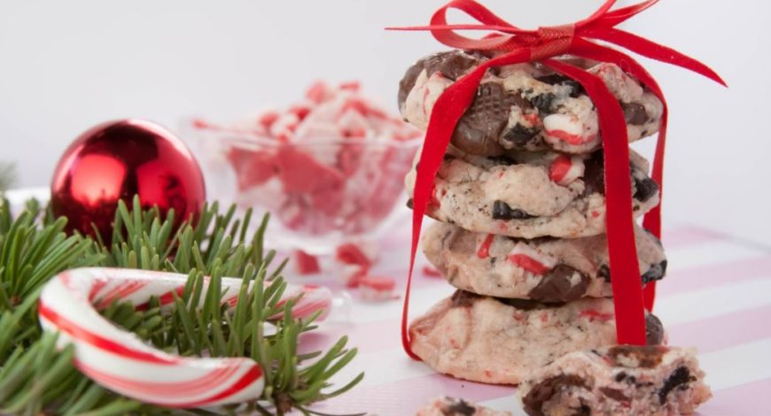 Nice Candy Cane Christmas Cookies Almond Breeze