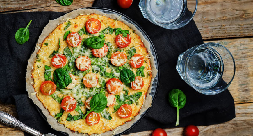 Dairy-free pizza
