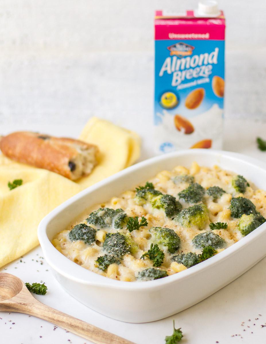 Macaroni and Broccoli Cheese Bake