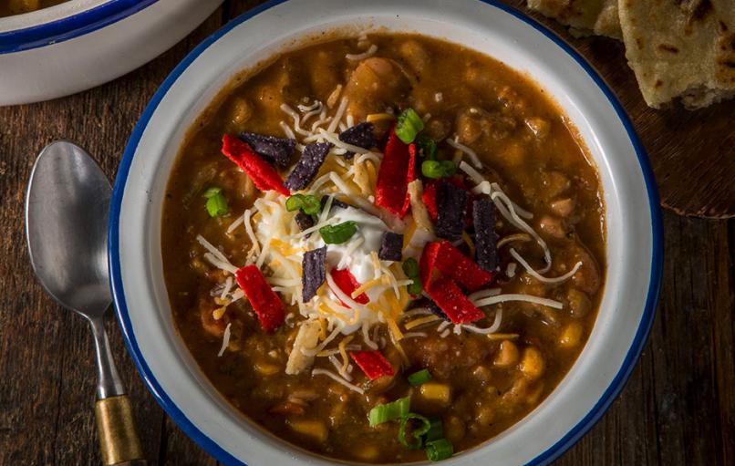 Tex Mex Veggie Chilli with Beans