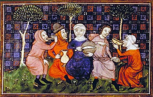 16th century soup vendors